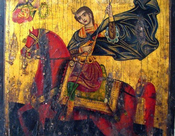 ИМ Правец, Постоянна експозиция, Иконопис, Св. Димитър